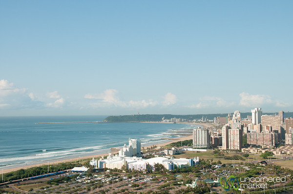 Durban City and Beach View - KwaZulu-Natal, South Africa
