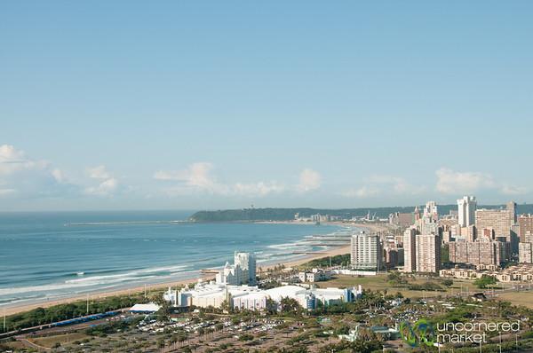 Durban City and Beach View - KwaZulu-Natal, South Africa