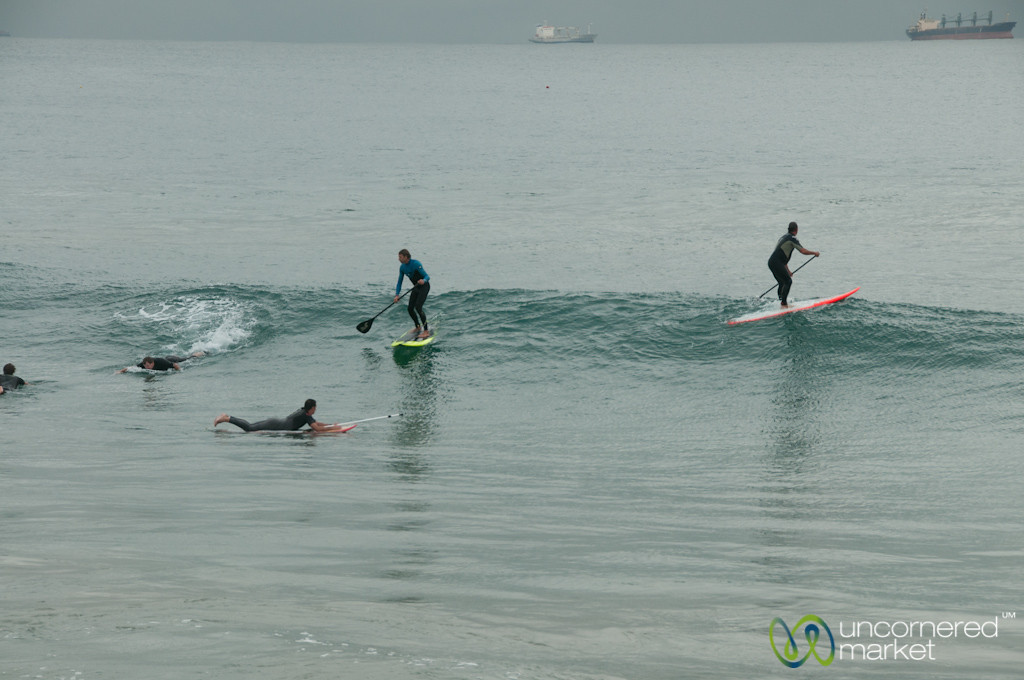 Surfing in Durban - KwaZulu-Natal, South Africa