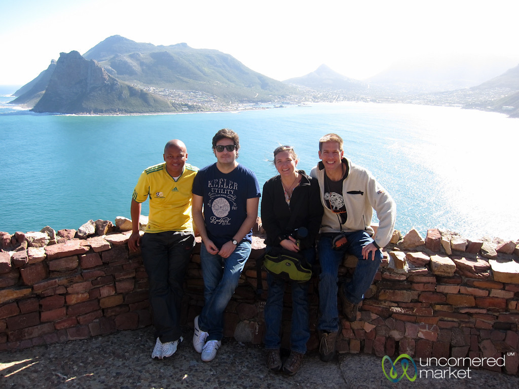 Our #MeetSouthAfrica Group at Chapman Peak's Drive - Cape Town, South Africa