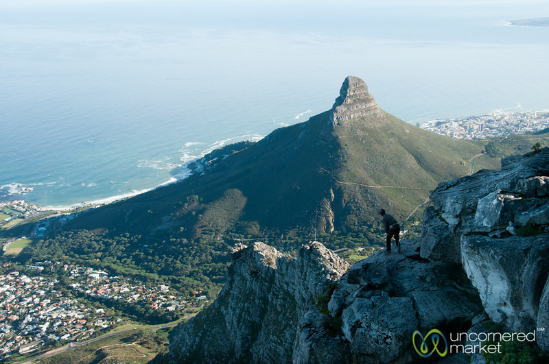 Rock Climbing at Table Mountain - Cape Town, South Africa