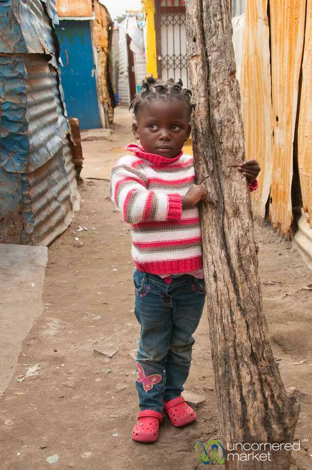 Masiphumelele Township, Young Girl - Cape Town, South Africa