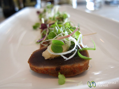 Seared Tuna Appetizer at Two Oceans Restaurant - Cape Point, Cape Town