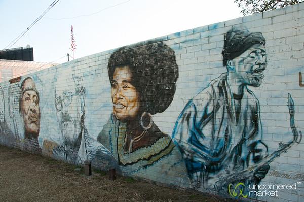 Street Art Portraits of Johannesburg Artists - South Africa