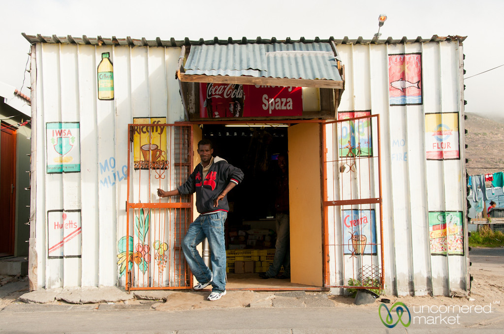 Shop (Spaza) in Masiphumelele Township - Cape Town, South Africa