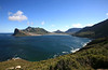 Fishing village of Hout Bay (Wood Bay) with Mount Sentinel.