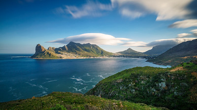 Hout Bay shot from Chapman's Peak.