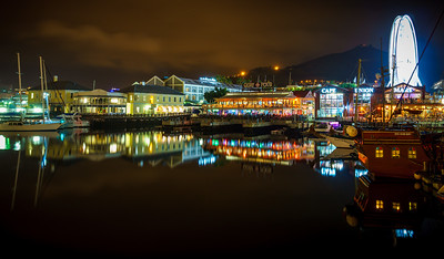 Captivating Cape Town by night.