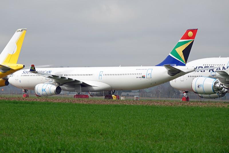 """9H-AHO Airbus A330-343E """"Leasing Company"""" c/n 1754 Tarbes-Lourdes/LFBT/LDE 27-02-21 """"SAA c/s"""""""