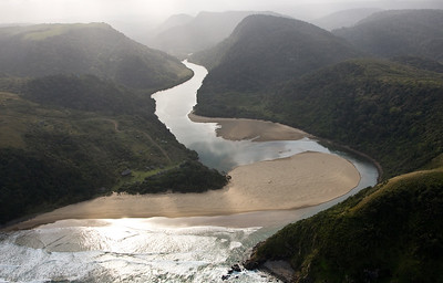 River mouth and estuary