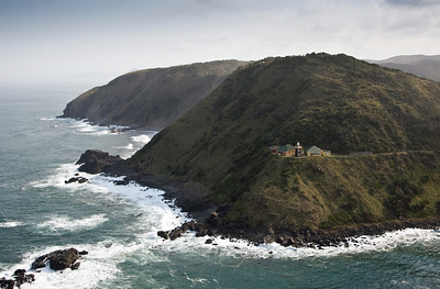 Lighthouse along the Transkei coast