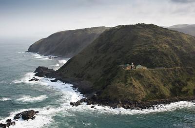 Lighthouse along the Transkei coast