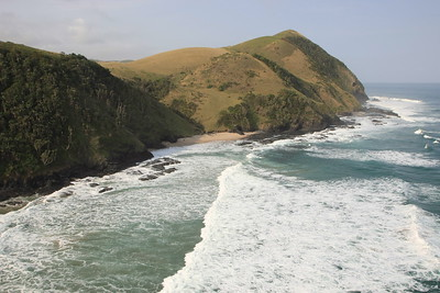 Coastal scenery near the Umngazi River estuary