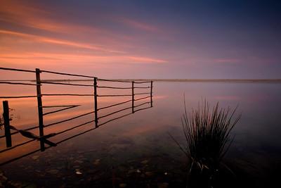 Umngazi River estuary, early morning light