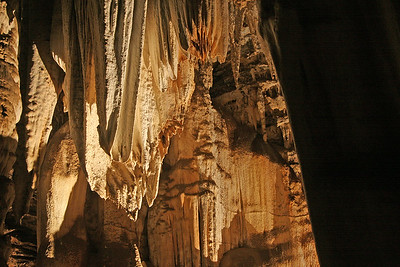 Spectacular stalactites in Wonder Cave