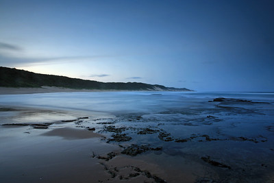 Stunning, secluded coastline near Mabibi