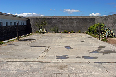 The quad.  The courtyard where prisoners spent most of their time while imprisoned on Robben Island