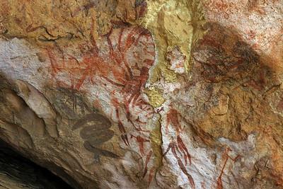 Giant's Castle rock art