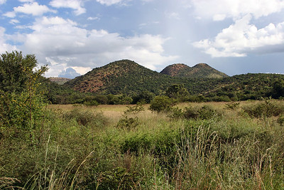 The mountainous collar of the Vredefort Dome
