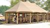 The Dining Tent at Ruckomechi Camp