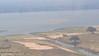 We see the Zambezi River as we approach Ruckomechi Camp