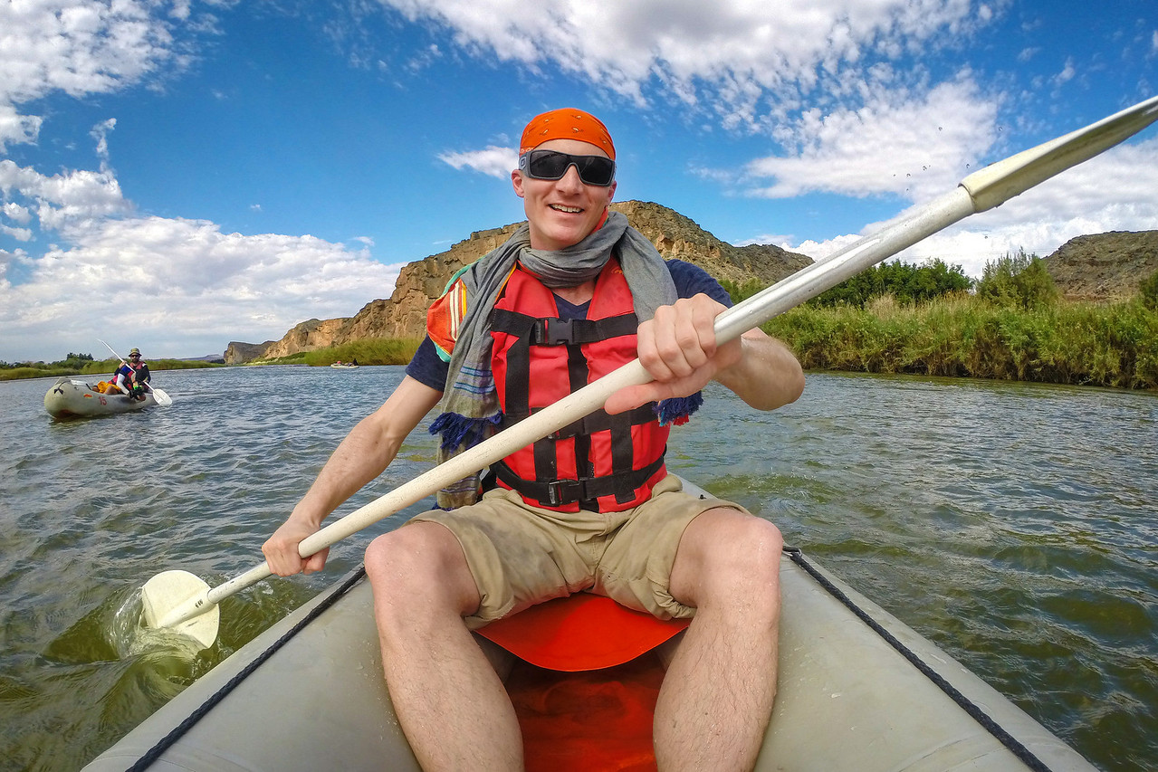 Rafting The Orange River