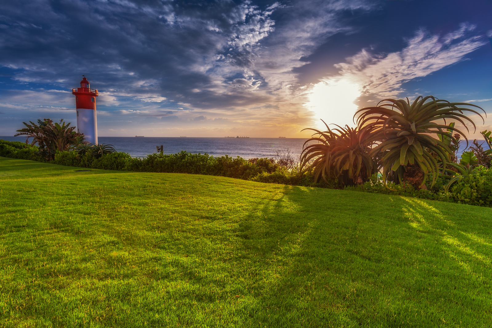 A magical view from Durban, South Africa
