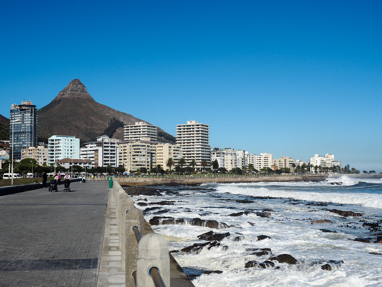 Green Point in Cape Town