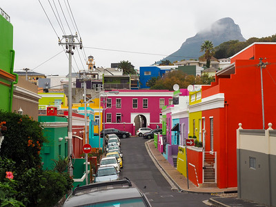Bo-Kaap neighborhood in Cape Town