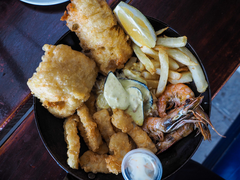 Seafood in South Africa