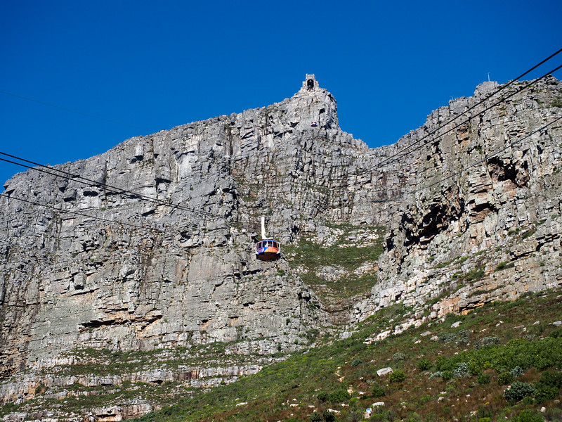 Table Mountain cable car in Cape Town