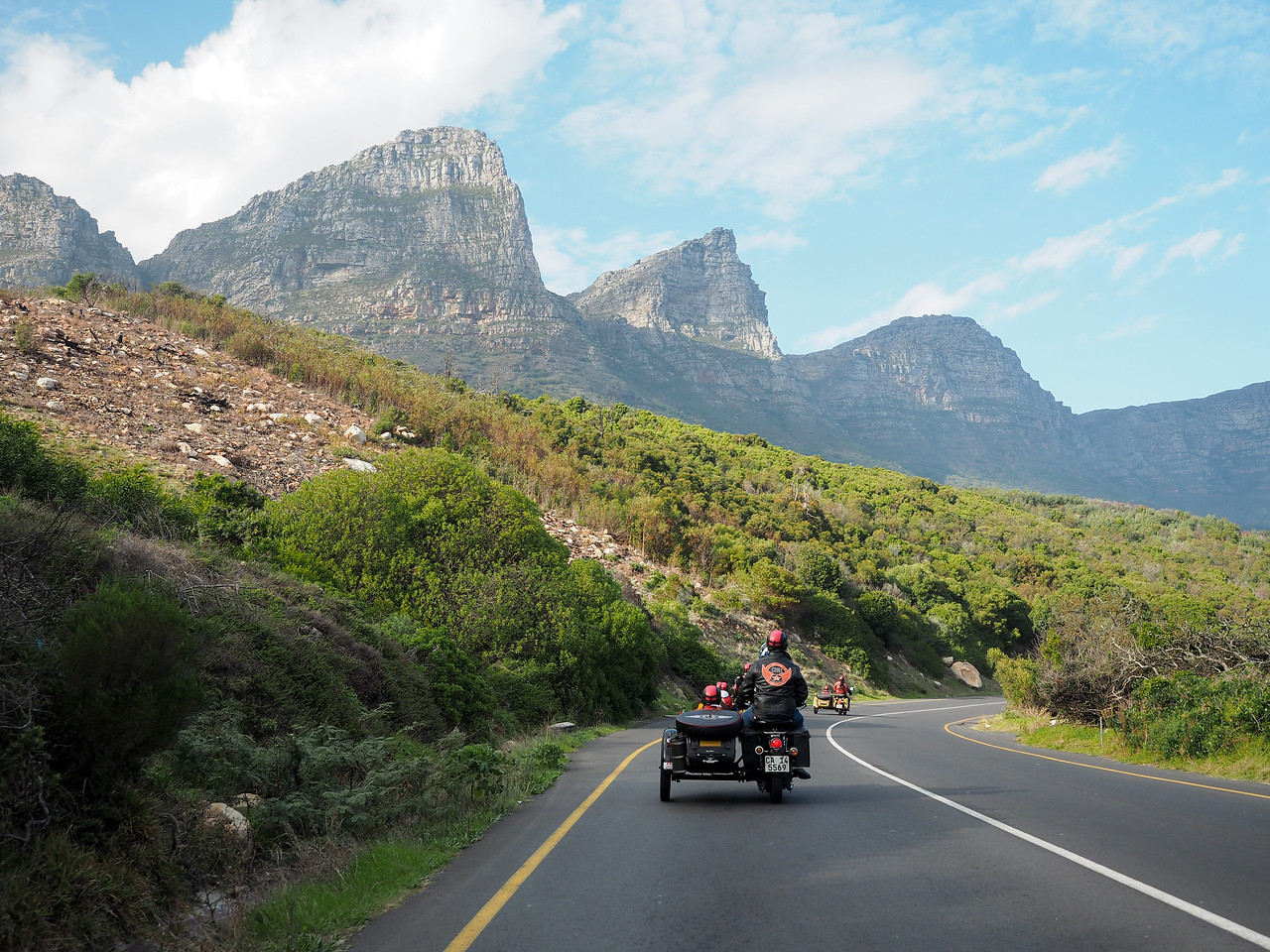 Sidecars in Cape Town, South Africa