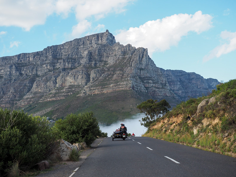 Motorcycle tour in Cape Town