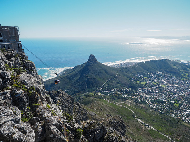 View from Table Mountain in Cape Town