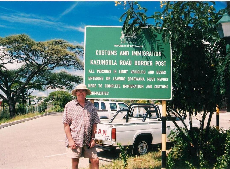 Crossing from Botswana (Kazungula Road Crossing) into Zimbabwe nr Victoria Falls in 2002 2002