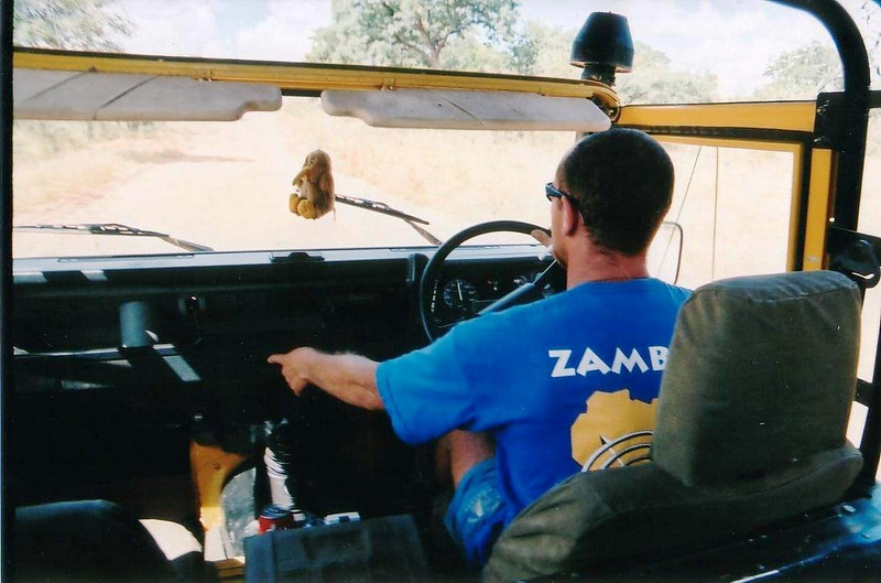 Jet boat ride in the Zambezi River, Zambia george was exciting, great stuff... 2002