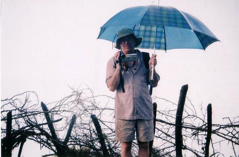 Victoria Falls, like a tropical downpour...all the time... 2002
