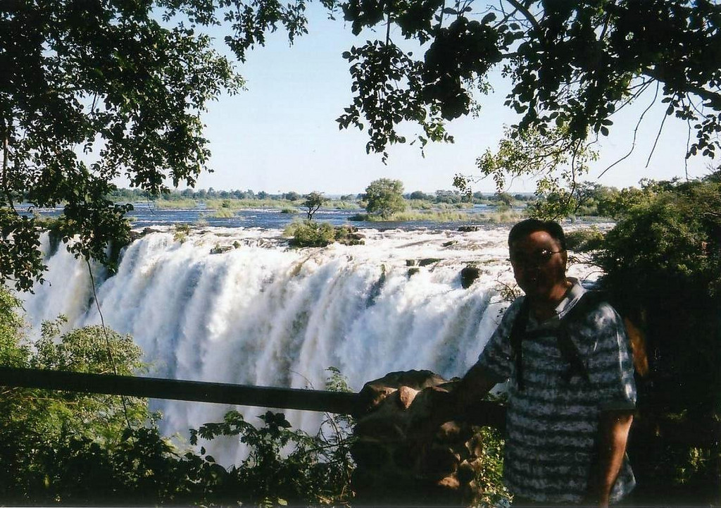 Victoria Falls, Zambia side views. 2002