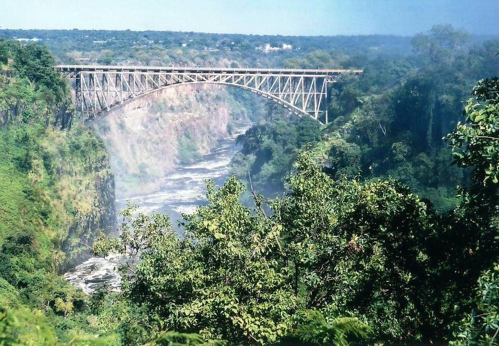 Victoria Falls Bridge over the Zambezi River 2002