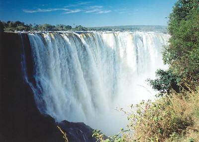 View of main falls