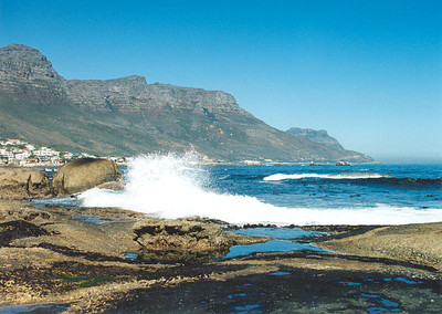 At Camps Bay, Cape Town