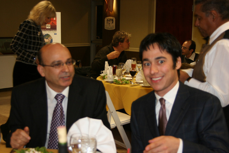 H.E. Sayed Khalifa and Executive Director of Africa Travel Association Eddie Bergman