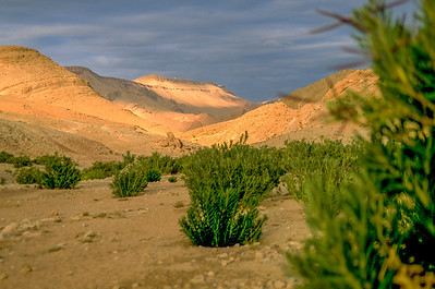 The Sarho Mountains are slightely smoother than the Atlas.