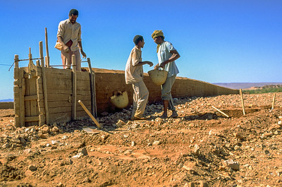 Construction with mud