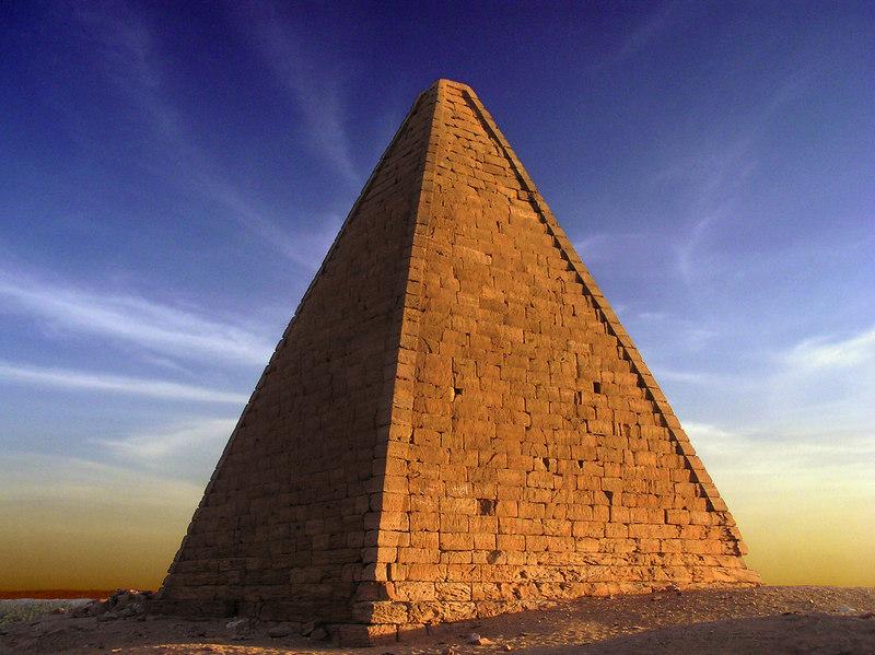 Pyramid, Jebel Barkal
