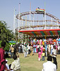 Mogram Park, Khartoum.  Mogram Park is one of several amusement parks along the river near the Confluence of the Nile (Mogram).  It's a perfect place to see Sudanese families relaxing and enjoying themselves.