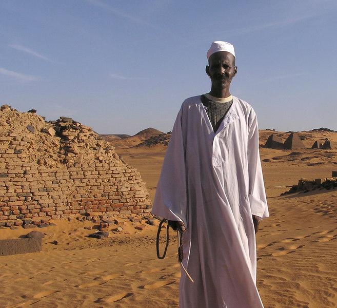 Camel man, Meroe