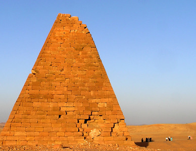 Nubian pyramid, Jebel Barkal
