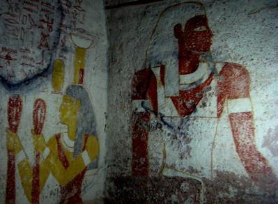Tanwetamani tomb, El Kurru.  El Kurru is a tomb site not far from Karima.
