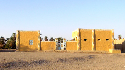 Living compound, between Abri and Wawa.  After a couple of nights in Abri I headed down along the Nile to see Soleb Temple on my way to the nearest population center, Dongola--a day's drive with any luck.
